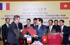 Vietnam, France shake hands in combating corruption