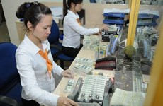 Reference exchange rate revised down by 10 VND