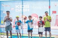 Kids' Dash marathon attracts 220 participants