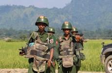 Myanmar: demonstrators clash with police