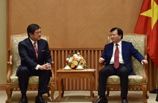 Japanese Mitsui encouraged to invest in Vietnam's infrastructure