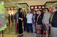 Exhibition on cultural heritage of ASEAN Community opens in Kon Tum