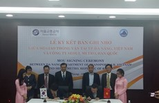 Agreement on Da Nang urban railway