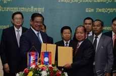 Laos, Cambodia discuss security matters