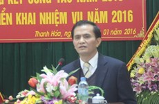 Thanh Hoa's People Committee Vice Chairman dismissed