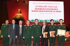Literature, art works highlight Vietnam-Laos-Cambodia solidarity