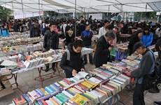 Old book fair opens in Hanoi city