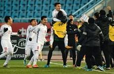 Vietnam's U23 team shakes international media