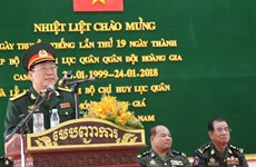 Vietnamese-funded headquarters of Cambodian army inaugurated