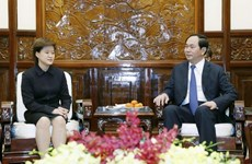 President hails Vietnam-Singapore strategic partnership