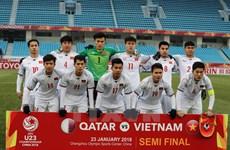Vietnam's U23 team receives rewards for final march berth
