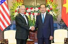 President: Vietnam treasures comprehensive relations with US