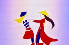 Logo designed to celebrate Vietnam-France diplomatic ties