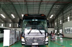 Thaco opens smart truck, bus showroom