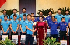 NA Chairwoman praises U23 Vietnam