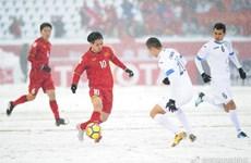 Vietnam U23 players' courage, passion melt snow: OSEN