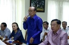 Vietnamese expats in Laos work to strengthen solidarity