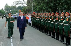 President Tran Dai Quang pays pre-Tet visit to Army Corps 4