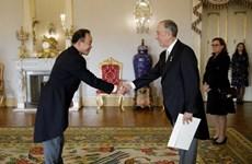 Ambassador presents credentials to Portuguese President