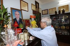 Party chief pays tribute to late leaders on Party founding anniversary