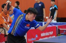 Vietnamese player aims to take title of elite table tennis event