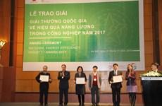 Vietnam Energy Efficiency Industry Awards 2017 presented in Hanoi