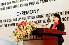 Vietnam launches Scaling Up Nutrition Movement