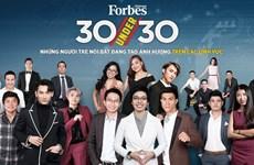 Forbes Vietnam announces 30 Under 30 list