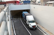 Cat Lai Port tunnel in HCM City opens to traffic