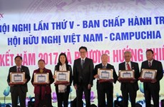 Vietnam-Cambodia Association helps tighten bilateral ties