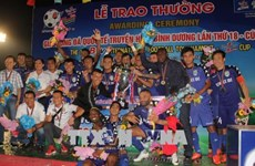 Becamex Binh Duong wins BTV Cup 2018