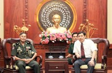 HCM City willing to maintain collaboration with Cambodian localities