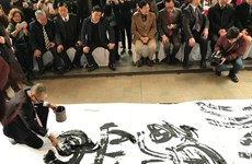 Calligraphy exhibition opens in Hanoi