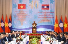 Lao media highlight Vietnam-Laos intergovernmental meeting's outcomes