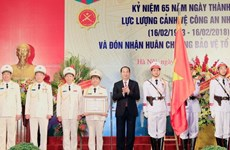President awards Fatherland Defence Order to guard force