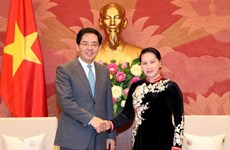 NA Chairwoman receives outgoing Chinese Ambassador