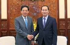 Chinese Ambassador says goodbye to State leader