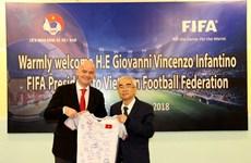 FIFA pledges support for Vietnam's football development