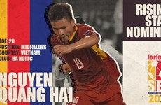Vietnamese players nominated for ASEAN football awards