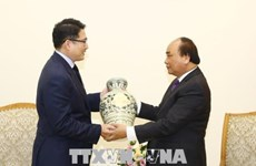 PM promises optimal conditions for Korean investors