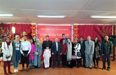 Vietnamese community in Algeria celebrates Lunar New Year