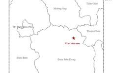 4.1 magnitude earthquake hits Dien Bien province