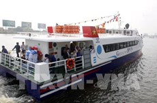 High-speed boat service opens on HCM City-Can Gio-Vung Tau route