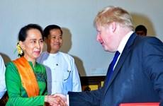 Myanmar, UK discuss Rohingya crisis