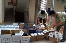 Fake booze, cigars flooding country as Tet nears
