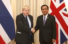 UK Foreign Secretary visits Thailand