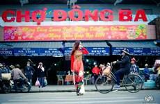 Dong Ba Market attracts visitors to Hue