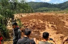 Indonesia landslide leaves at least 5 dead, 15 missing