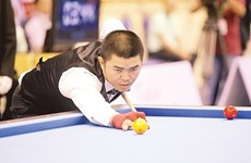 Vietnamese cueists compete in Germany