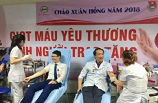 Blood donation campaign opens in Hanoi